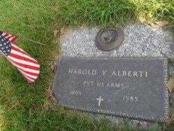 PFC Harold V Alberti