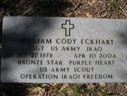 Sgt William Cody Eckhart
