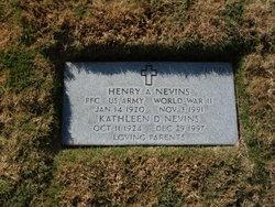 Henry Aubrey Nevins