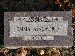 Emma J <i>Moomey</i> Ainsworth