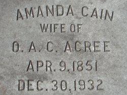 Amanda <i>Cain</i> Acree
