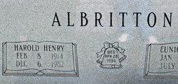Harold Henry Albritton