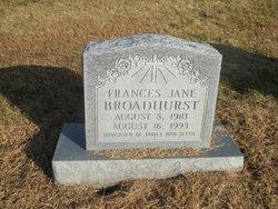 Frances Jane Broadhurst
