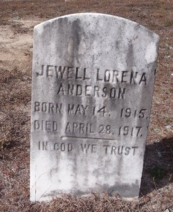 Jewell Lorena Anderson