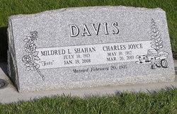 Mildred Lucille Toots <i>Shahan</i> Davis