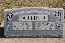 Rosa Belle <i>Lewis</i> Arthur