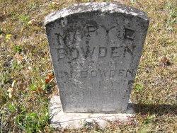 Mary Elizabeth <i>Burt</i> Bowden