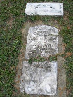 Nancy Nannie <i>Pittard</i> Compton