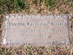 Cynthia Katherine <i>Akers</i> Altizer