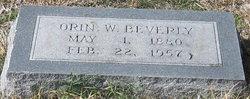 Orin William Beverly