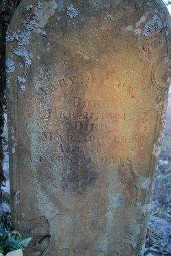 Mary A <i>Davis</i> Poe