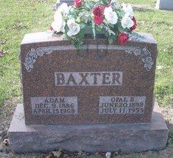 Opal <i>Johnson</i> Baxter