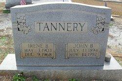 Irene <i>Bennett</i> Tannery