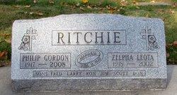 Zelpha Leota <i>Garrison</i> Ritchie
