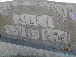 June <i>Brogan</i> Allen