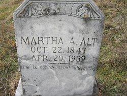 Martha A <i>Hedrick</i> Alt