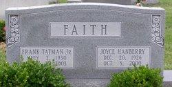 Joyce <i>Hanberry</i> Faith