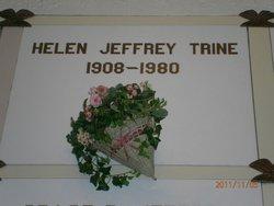 Helen E <i>Jeffrey</i> Trine