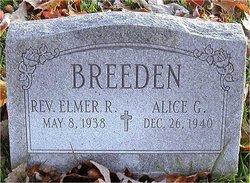 Rev Elmer R. Breeden