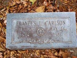 Frances L. <i>McCue</i> Carlson