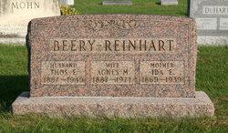 Agnes M. <i>Reinhart</i> Beery