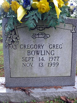 Gregory Greg Bowling