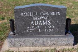 Marcella Gwendolyn <i>Gasaway</i> Adams