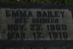 Emma <i>Sechler</i> Bailey