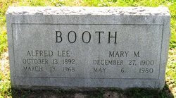 Alfred Lee Booth