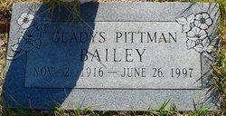 Gladys <i>Pittman</i> Bailey