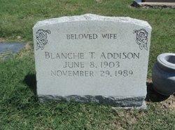 Blanche <i>Trafton</i> Addison