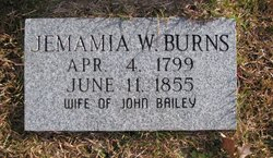 Jemima W. <i>Burns</i> Bailey