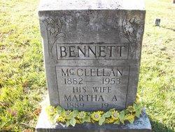 Martha Annie <i>Waybright</i> Bennett