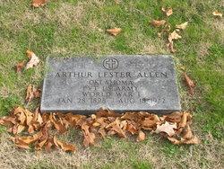 Pvt Arthur Lester Allen