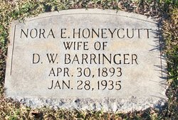 Nora E. <i>Honeycutt</i> Barringer
