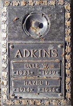 Hazel I Adkins