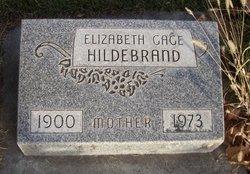 Elizabeth <i>Gage</i> Hildebrand