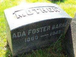 Ada D <i>Foster</i> Barnes
