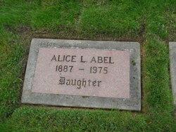 Alice L Abel