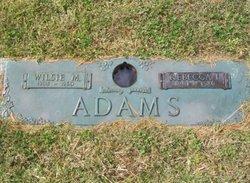 Wilsie M Adams
