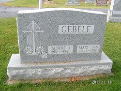 Mary Ann <i>Schroer</i> Gebele