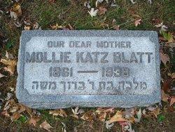 Mollie <i>Kellner</i> Katz Blatt