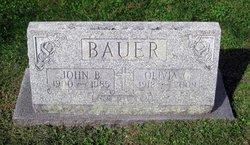 Frances Olivia <i>Gault</i> Bauer