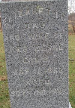 Elizabeth Catherine <i>Albaugh</i> Zerbe