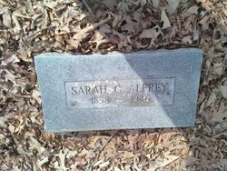 Sarah C <i>Hight</i> Alfrey