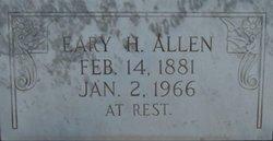 Eary Marie Eary <i>Hillman</i> Allen