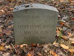 Irene Victoria <i>Evens</i> Alden
