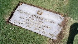 Sgt William Adams Lowe, Jr