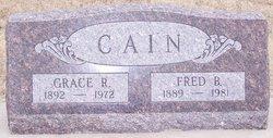 Mrs Grace Rebecca <i>Mathews</i> Cain