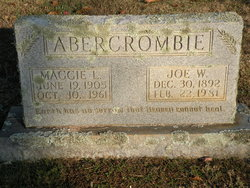 Joe W Abercrombie